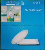 Luz de painel do diodo emissor de luz-- Painel magro quadrado montado encaixado 24W do painel 24W