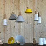 喫茶店の装飾の照明のための現代様式アルミニウム白いカラーペンダント灯