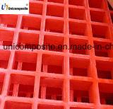 La fibre de verre a renforcé le polymère râpant la grille moulée par FRP
