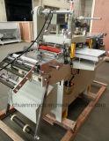 El presionar de la piedra preciosa grabada en hueco, papel de aluminio, constantemente y firma, máquina que corta con tintas automática