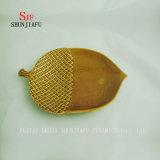 Piatto di ceramica del servizio di /Nut-Shape di 2 formati/2 colori