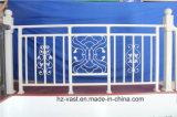 Barandilla de acero galvanizada decorativa de alta calidad 27 del balcón de la aleación de Haohan Alluminum