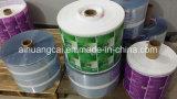 Película plástica del papel de cubierta/rodillo de aluminio del bolso