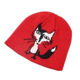 Los niños del telar jacquar del sombrero de la gorrita tejida de POM POM hicieron punto el sombrero