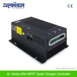 12V/24V регулятор 40A 60A заряжателя Автоматическ-Обнаружения MPPT солнечный