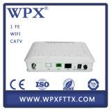 équipement de télécommunication 1fe+CATV FTTH Gepon ONU 1ge Ontario