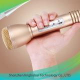 Microfone do jogador do karaoke com o sem corda Handheld portátil do altofalante de Bluetooth