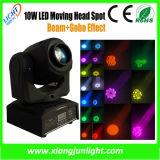 lumière principale mobile de mini DEL endroit de Gobo de 30With60W
