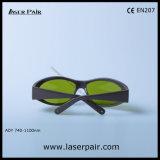Frame55の808nmダイオードレーザーの防護眼鏡のための高い光学濃度