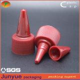 20/24/28/410 de torção de empacotamento do parafuso do frasco plástico fora do tampão superior