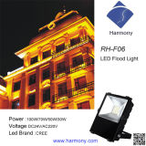 Luz de inundação impermeável ao ar livre do diodo emissor de luz 100W