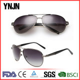 Солнечные очки пилота сплава Ynjn наградным поляризовыванные Mens (YJ-F8585)