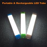 USBインターフェイスDC5Vのを使って再充電可能な、携帯用8W太陽LEDの管