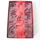 Костюм прессформы печенья с номером 0-8