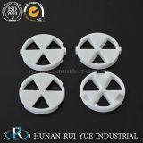 Disco di ceramica di ceramica industriale della valvola del rubinetto dell'allumina 95 di resistenza a temperatura elevata