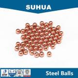 El oro de imitación plateó la bola de acero inoxidable 304 de 12m m