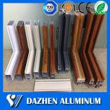 Perfil de alumínio de alumínio do indicador da porta deslizante com revestimento do pó