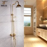Intemporal estilo de vida de cristal Antique Brass Multifuncional Zf-38 Shower Shower Set