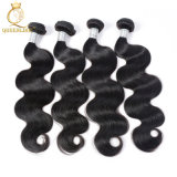 Freie Beispielbrasilianischer Haar-Extensions-Typ Karosserien-Wellen-natürliche schwarze Farbe