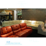 Modernes ledernes Recliner-Sofa für Heimkino (DW-1005S)