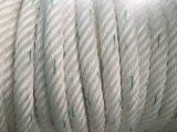 6 물가 화학 섬유는 계류기구 밧줄 폴리프로필렌, 섞인 폴리에스테, 나일론 밧줄을 새끼로 묶는다