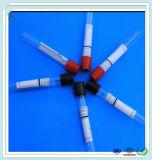 Tubo no tóxico de la colección de la sangre del animal doméstico de cristal claro médico con la ISO