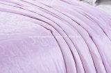 Silk Steppdecke 100%Mulberry durch handgemachtes mit Luxuxjacquardwebstuhl-Baumwollgewebe