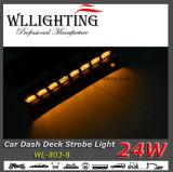 Het Licht van het Dek van het Streepje van de LEIDENE Vrachtwagen van de Waarschuwing 24W