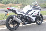 150cc 200cc 250cc Motorrad-Sport-Fahrrad mit weißer Farbe laufend
