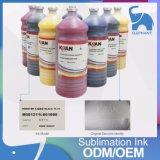 Tinta de la sublimación/de la transferencia del tinte del E-Oro de Kiian de la buena calidad para Mutoh