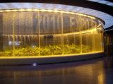 Rideau en eau d'intérieur de commande numérique de fontaine d'eau d'image d'étalage