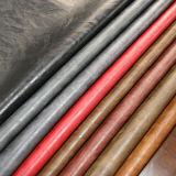 Het hete Zachte Duurzame Pu Synthetische Leer van de Verkoop voor het Meubilair van Schoenen (E6087)