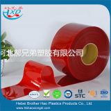 Virgin 물자 매끄러운 유연한 빨간 비닐 플라스틱 PVC 용접 커튼 문 지구 Rolls