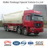 camion di serbatoio della polvere del carbone di legna dell'euro 3 di 37cbm Shacman con il motore diesel di Cummins