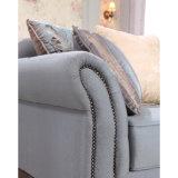 Sede di amore americana del sofà dell'unità di elaborazione dello strato antico del tessuto per il salone