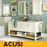 米国式のカシの純木の浴室の虚栄心の浴室用キャビネットの浴室の家具(ACS1-W33)