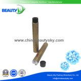 Tubo de aluminio flexible de la crema del color del pelo con las tapas