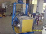 De frecuencia media de 50 kw horno de fusión por inducción de 50kgs Plata Fundición