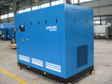 Compresor industrial de dos fases del tornillo de aire del petróleo inmóvil (KE132-10II)