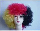 Perruque synthétique moyenne de cheveu de couleur mélangée pour la sensation d'usager/cheveux humains