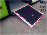 Certificado CE de ruedas rampa de carga de autobús con la carga 350kg