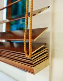 Großhandel konkurrenzfähiger Preis Fabrik-Preis Jalousien Holz