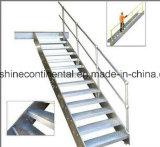 Escalera galvanizada del acero suave de la INMERSIÓN caliente
