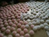 Différentes tailles et couleurs 100% vraies boules de fourrure de lapin