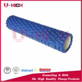Rouleau texturisé à haute densité de massage de muscle de yoga de réseau de rouleaux de mousse d'injection d'EVA