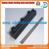 Plaina lâmina para corte de madeira com material de carboneto ou HSS (RK411)