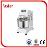 64L 25kg Mezclador espiral de la masa para la restauración del alimento Equipo del restaurante Máquina de fábrica de la fábrica de la panadería en China