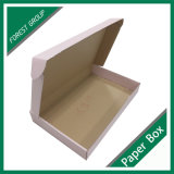 O papel luxuoso do cartão ondulado da folha quente veste a caixa