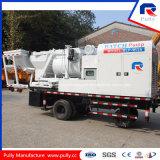 Camion concreto personalizzato della pompa in lotti con il miscelatore dell'Gemellare-Asta cilindrica Js500