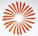 Pena parabólica Stripy do direita de 4 polegadas para a seta